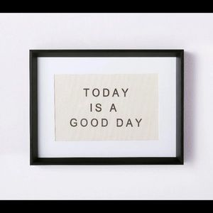 "McGee x Target ""Today Is A Good Day"" Art"